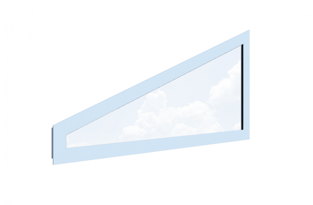 Fönster gavelspets Twin HVF , Vår&Höst